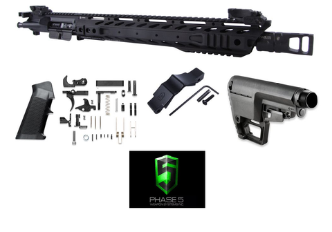 PHASE 5 P5T15 RIFLE COMPLETION KIT 5.56 NATO - DIVISION MOGUL