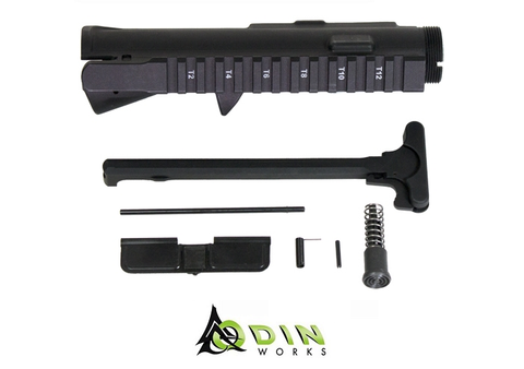 AR15 UNASSEMBLED UPPER KIT W/CHARGING HANDLE - Division Mogul
