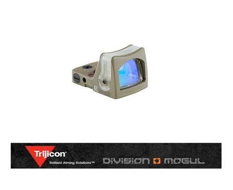 RM05-C-700210: Trijicon RMR Dual-Illuminated Sight - 9.0 MOA Green Dot Cerakote Flat Dark Earth - Division Mogul