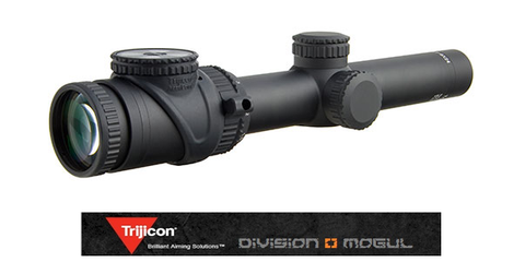 ACCUPOINT 1-6X24 RIFLESCOPE MOA-DOT C/H 30MM TUBE - Division Mogul