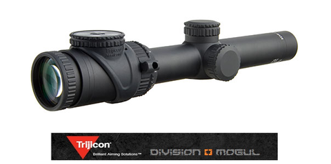 ACCUPOINT 1-6X24 RIFLESCOPE STANDARD DUPLEX C/H 30MM TUBE - Division Mogul