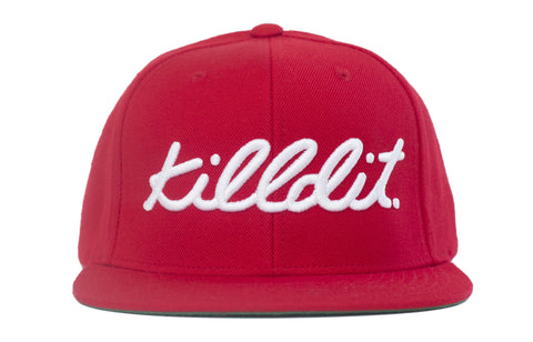 Classic Snapback Red/White
