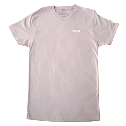 Signature Box Logo Tee Sand