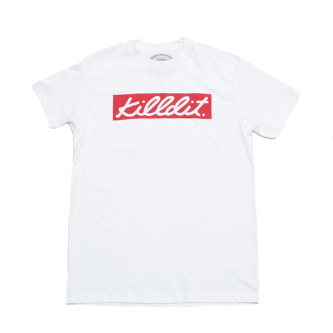 Signature Box Logo Tee White