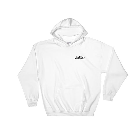 Tagged Hoodie White