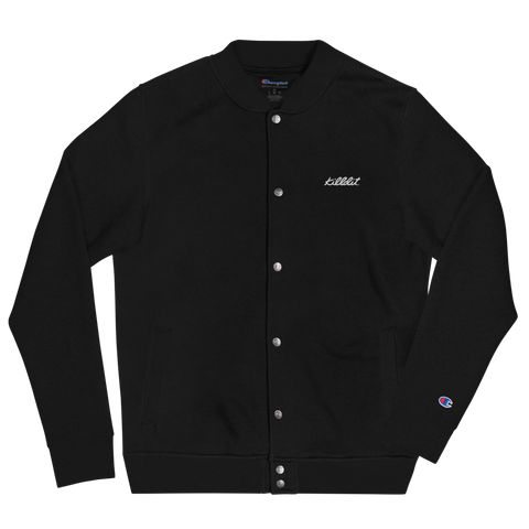 champion x killdit. bomber jacket