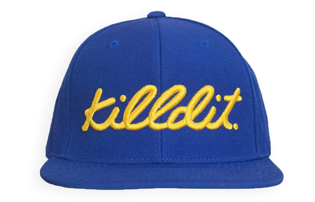 a9984827 Classic Snapback Blue/Yellow – killdit.®