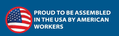 Assembled in the USA by American Workers