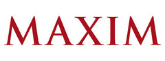 Maxim Magazine Logo Pengallan Press