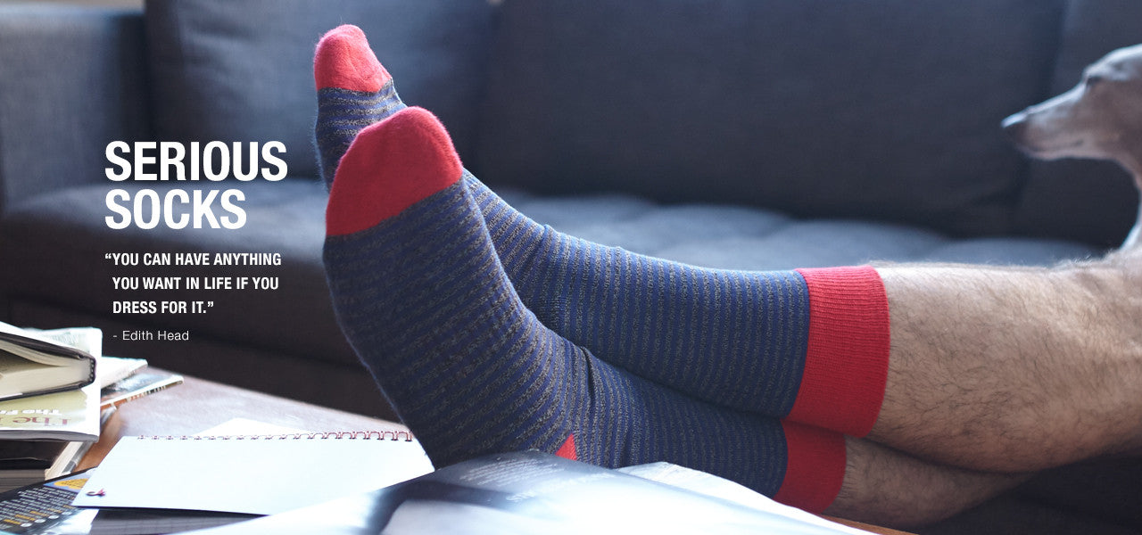 About | Serious Socks | Pengallan