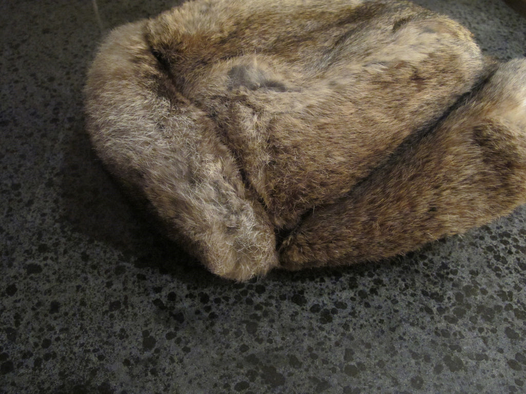Ushanka Siberian Rabbit Fur Hat