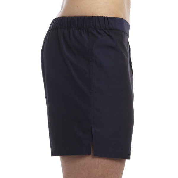 Men's Designer Underwear | Slim-Fit Boxers Midnight Blue Solid | Pengallan