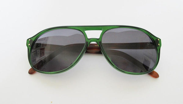 Men 's Designer Eyewear | Selima Optique Money 2 Sunglasses | Emerald Tortoise | Pengallan