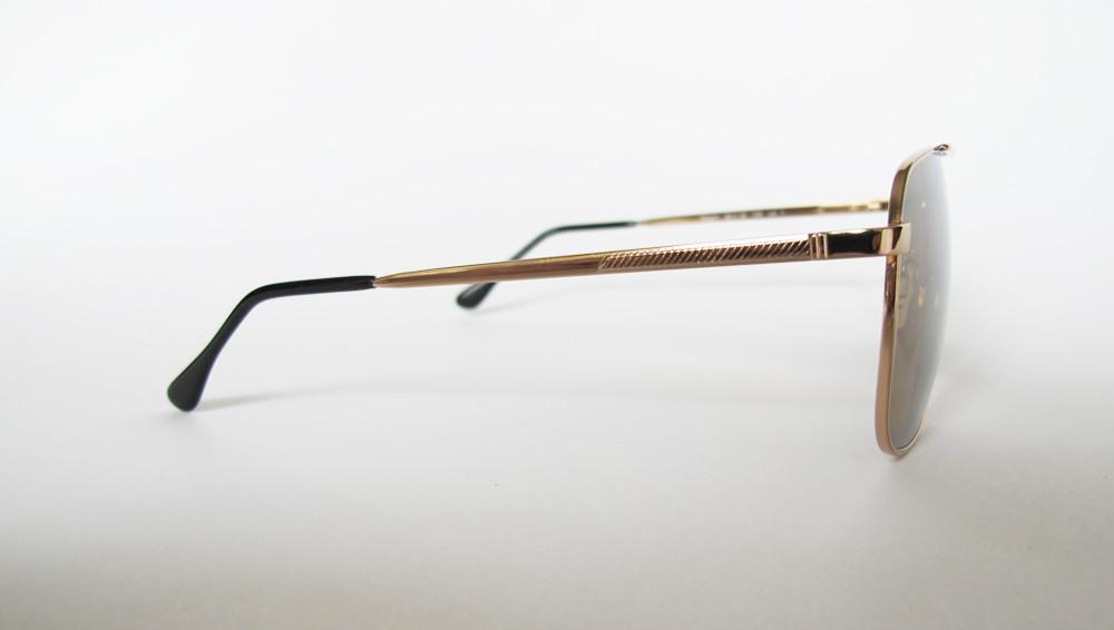 Men's Designer Eyewear | Selima Optique Robert Sunglasses | Gold/Gold Mirror | Pengallan