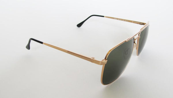 Men's Designer Eyewear | Selima Optique Robert Sunglasses | Gold/Green | Pengallan