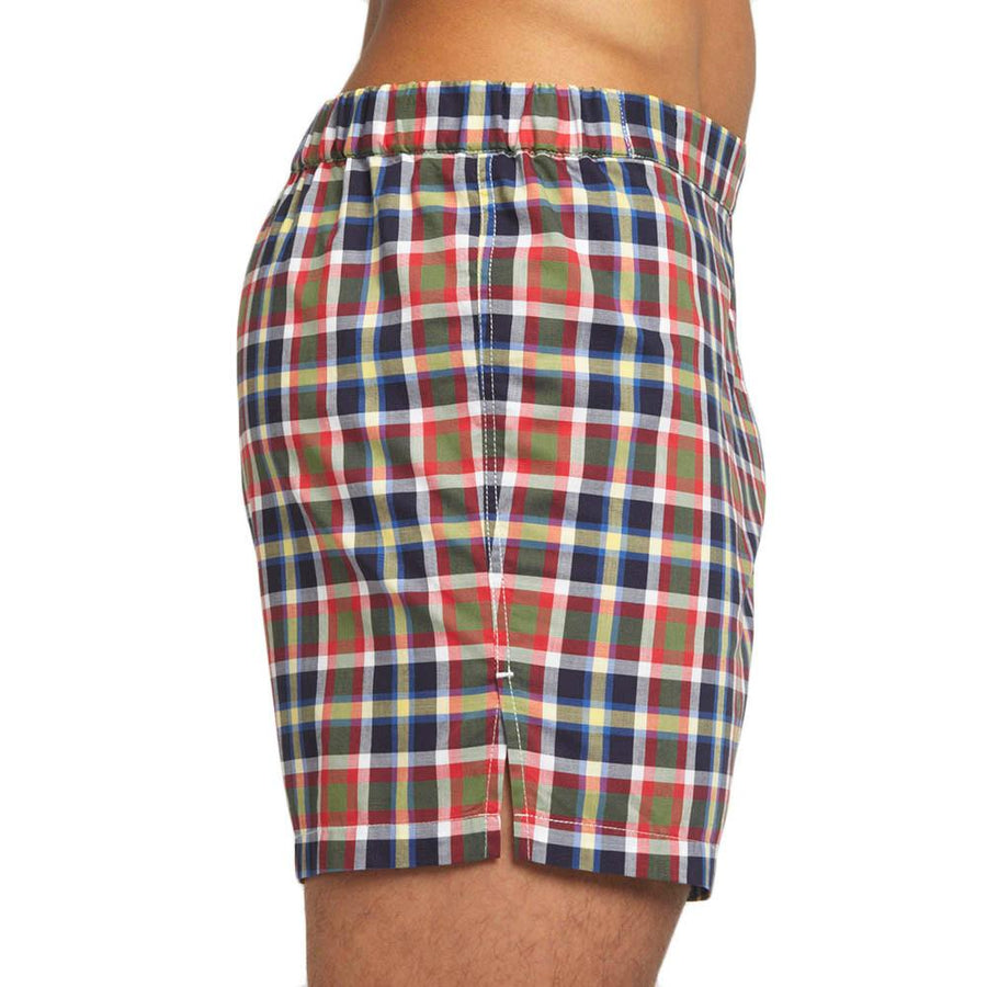Men's Designer Underwear | Slim-Fit Boxers Multi Plaid | Pengallan