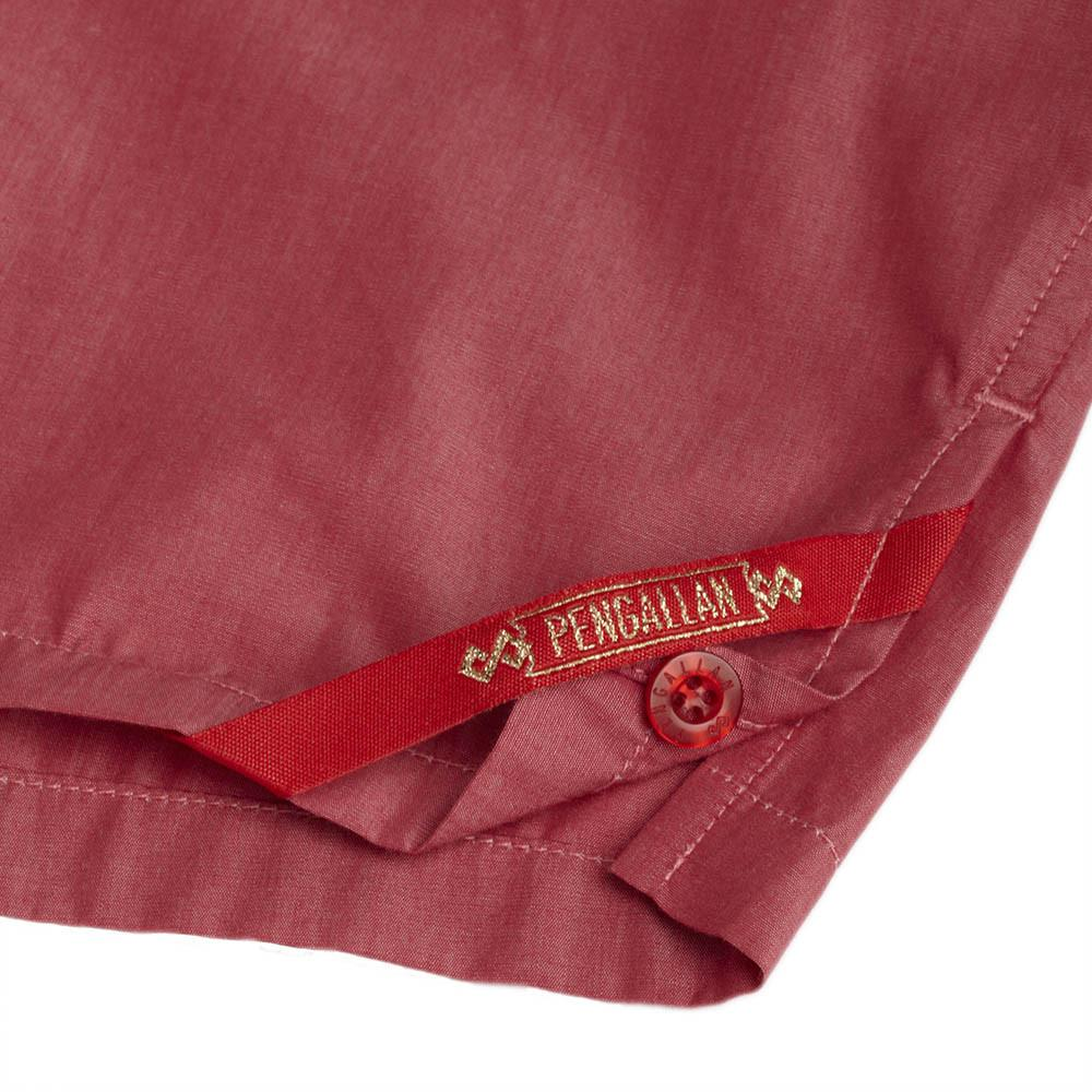 Men's Designer Underwear | Slim-Fit Boxers Red Solid | Pengallan