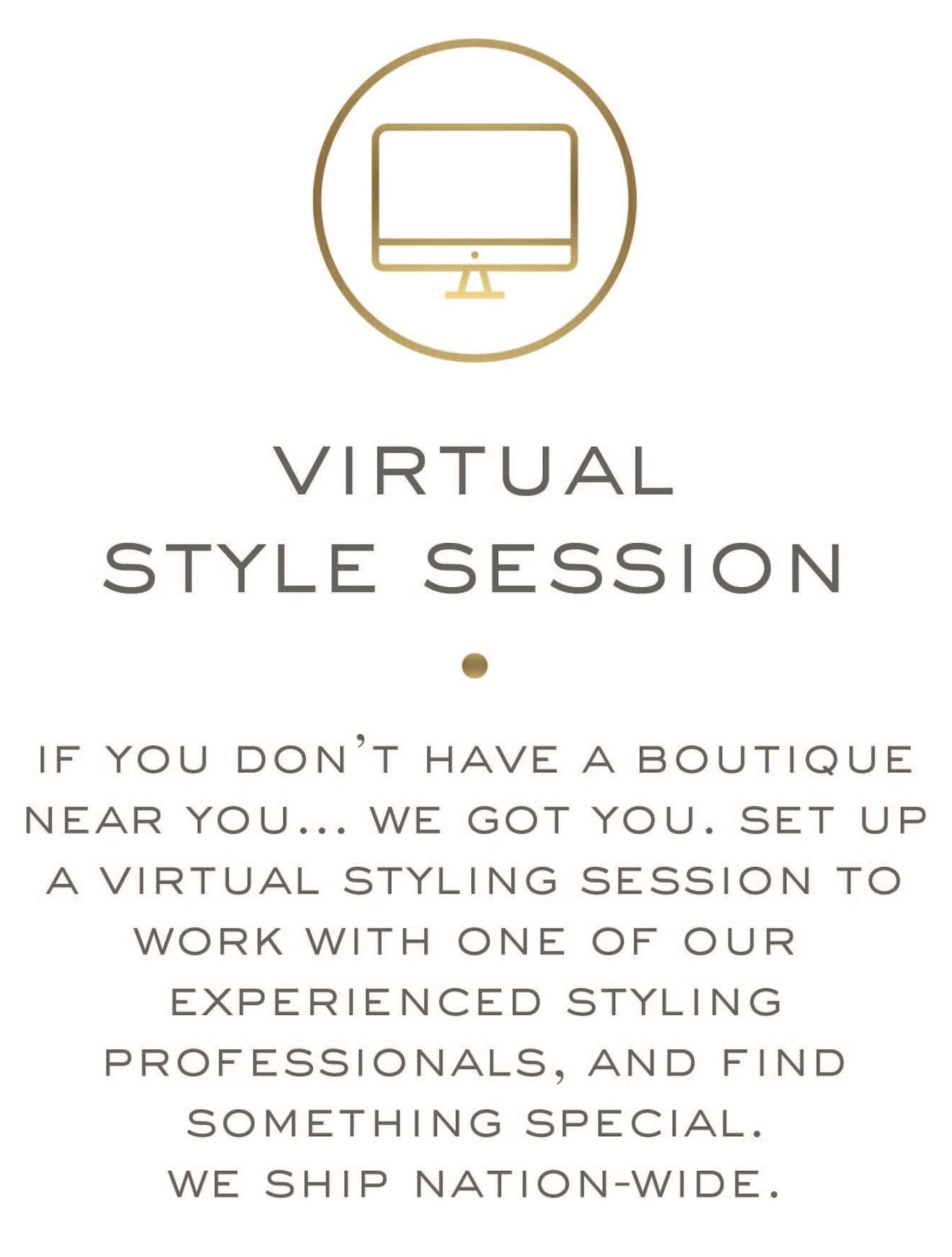 virtual style session