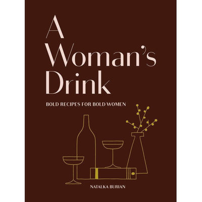 A WOMAN'S DRINK BOOK - Shop Marcus