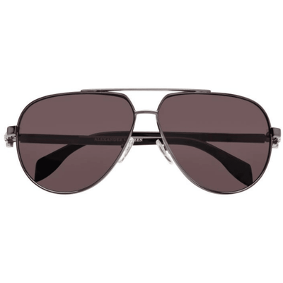 ALEXANDER MCQUEEN TWO TONE AVIATOR SUNGLASSES