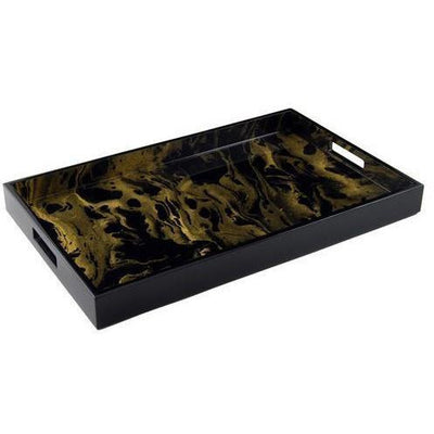 BLACK & GOLD TRAY