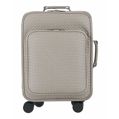 BOTTEGA CABIN LTHR LUGGAGE DARK CEMENT/DARK CEM X