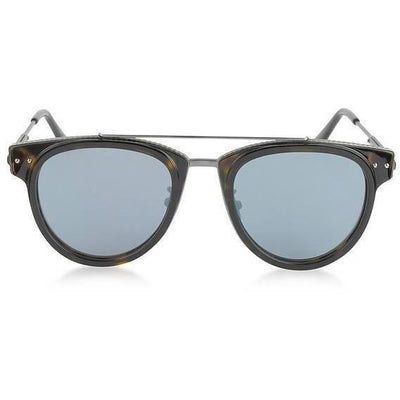 BOTTEGA VENETA ROUND AVIATOR NOVELTY SUNGLASSES