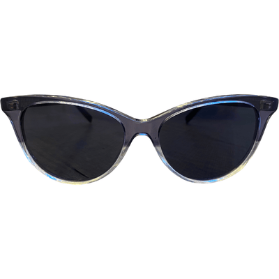 BOUCHERON TWO TONE ROUND NOVELTY SUNGLASSES