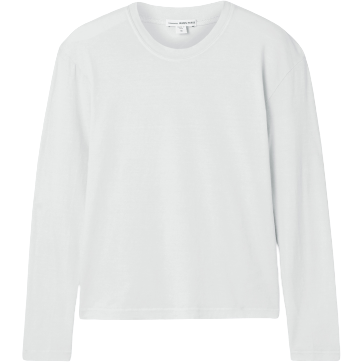 BOXY LONG SLEEVE TEE - ARCTIC