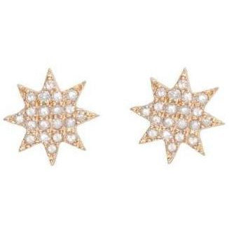 BRIGHT DIAMOND STUDS