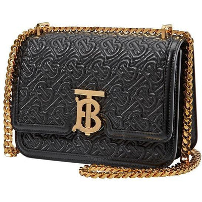 BURBERRY HANDBAG BURBERRY EMBOSSED TB SHOULDER BAG