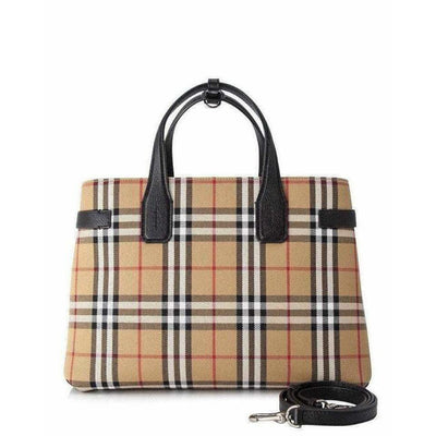 BURBERRY MEDIUM BANNER HOUSE CHECK TOTE