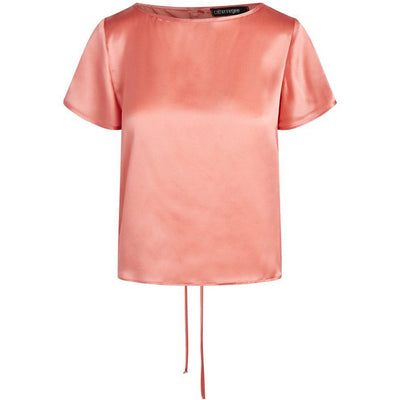 CATHERINE GEE BLOUSE CATE SHIRT - CORAL