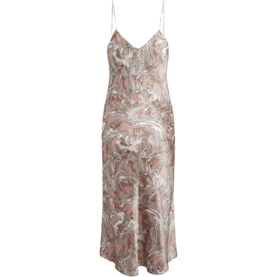 CATHERINE GEE CASUAL DRESS CELESTE SLIP DRESS - PARIS PAINT