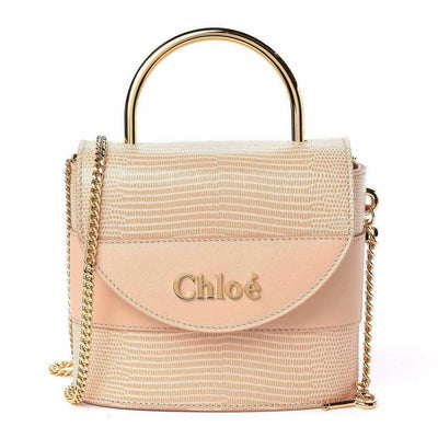 Chloe Calfskin Lizard Embossed Bag