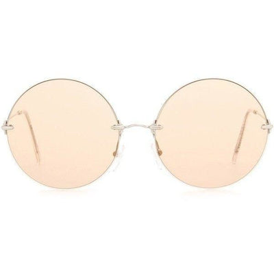 CHRISTOPHER KANE ROUND SUNGLASSES