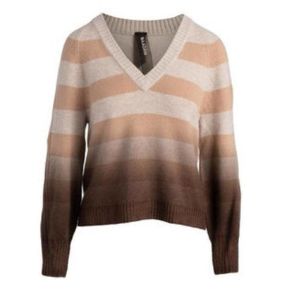 Dip Dye V-Neck Sweater - Shop Marcus