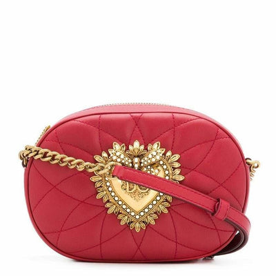DOLCE & GABBANA LX LIVE DOLCE & GABBANA DEVOTION CROSSBODY BAG QUILTED