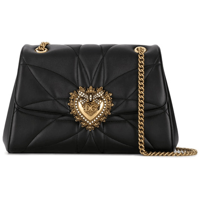 DOLCE & GABBANA LARGE DEVOTION SHOULDER BAG QUILTED