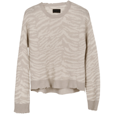 RTA SWEATER Emma Boxy Sweater Grey