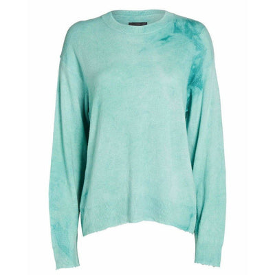 RTA SWEATER EMMA BOXY SWEATER MINT CLOUD