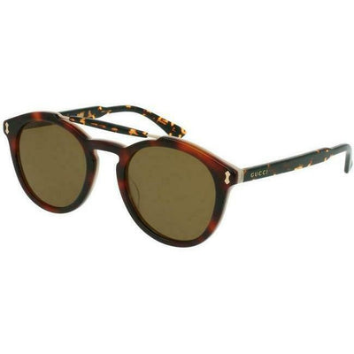 GUCCI GREEN ROUND UNISEX SUNGLASSES