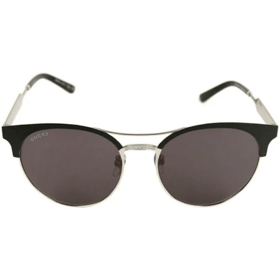 GUCCI METAL MATTE BLACK FRAME SUNGLASSES