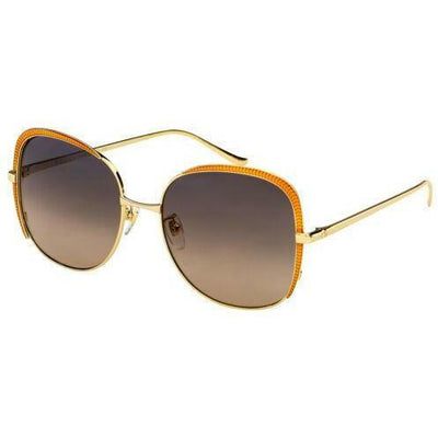 Gucci Luxury Eyeware GUCCI SUNGLASSES WITH GOLD FRAME
