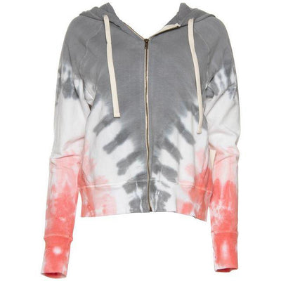 ELECTRIC AND ROSE SWEATSHIRT HIGHLAND HOODIE - THUNDER CLOUD
