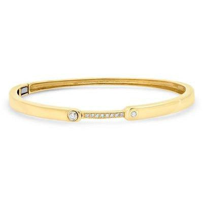 IDEALIST DIAMOND HINGE BRACELET - Shop Marcus