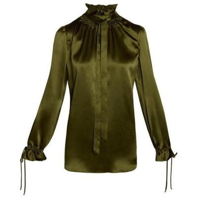 KIERA SILK BLOUSE - CATHERINEGEE