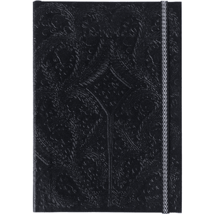 CHRISTIAN LACROIX NOTEBOOK BLACK LACROIX A5 PASEO NOTEBOOK