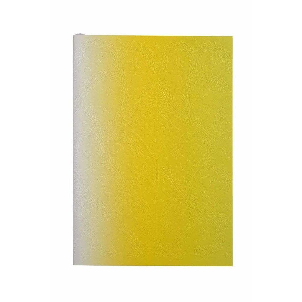 CHRISTIAN LACROIX NOTEBOOK NEON YELLOW OMBRE LACROIX A6 PASEO NOTEBOOK