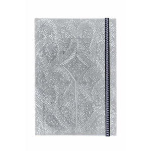 CHRISTIAN LACROIX NOTEBOOK SILVER LACROIX B5 PASEO NOTEBOOK